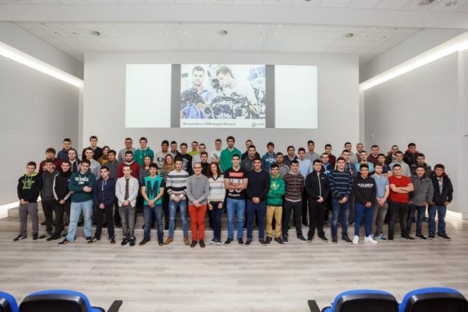 Grupo prácticas Volkswagen Navarra
