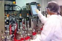 Imagen de los laboratorios de 3P Bio en Noáin. (FOTOS: Cedidas por 3P)