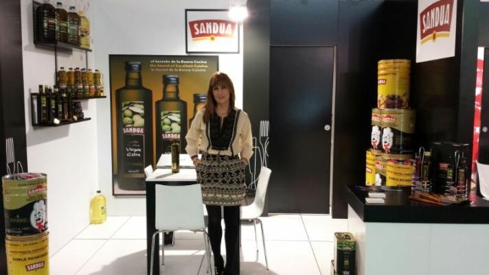 Laura Sandúa en Alimentaria 2014