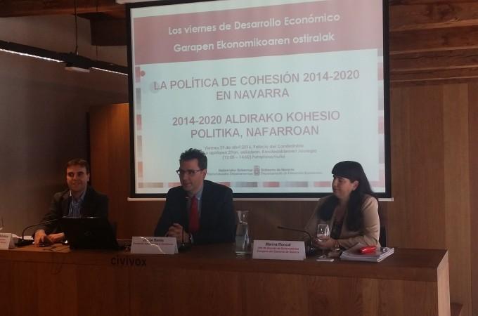 La UE destina a Navarra 95 millones para políticas de cohesión