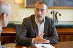Imagen vicepresidente  foral de Asuntos Sociales Miguel Laparra (archivo. Foto: Miguel Ciriza)