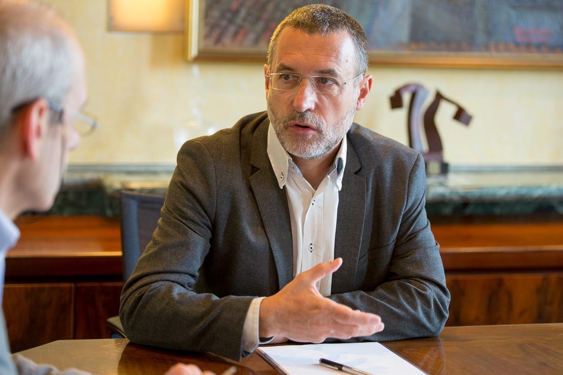 Imagen del Vicepresidente de Derechos Sociales, Miguel Laparra (Foto: Miguel Ciriza)
