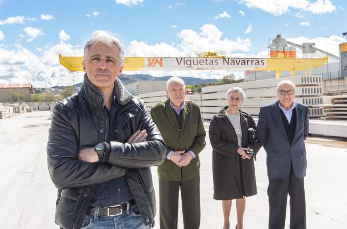 Viguetas Navarras, galardonada con el primer Premio Empresa Familiar Navarra de ADEFAN