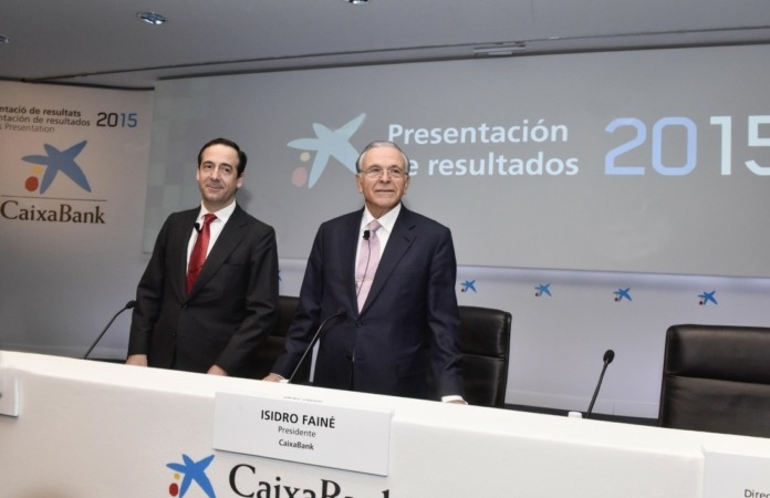 Faine y Gortazar Resultados Caixabank 2015
