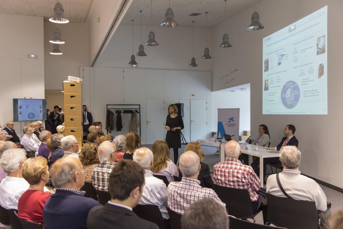 20160511 CaixaBank encuentro con 120 accionistas Navarra