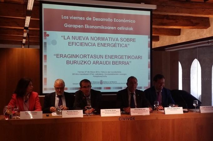 El gasto energético en Navarra en 2014 ascendió a 2.000 millones de euros