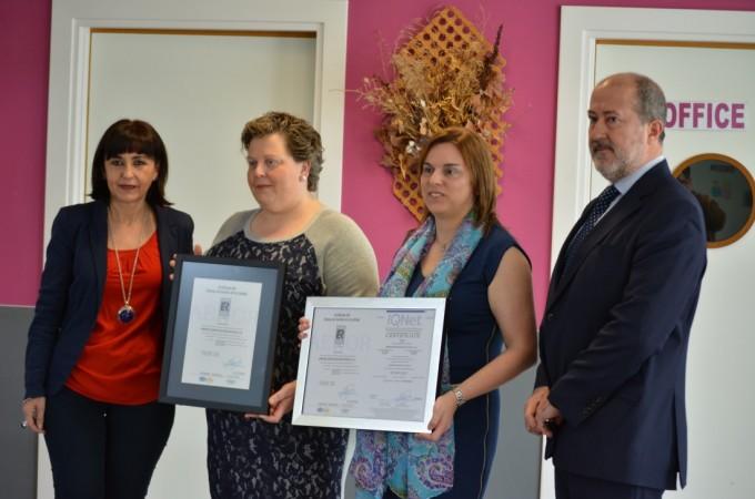 Milagros y Azagra, primeros colegios 0 a 3 años en Navarra certificados por AENOR