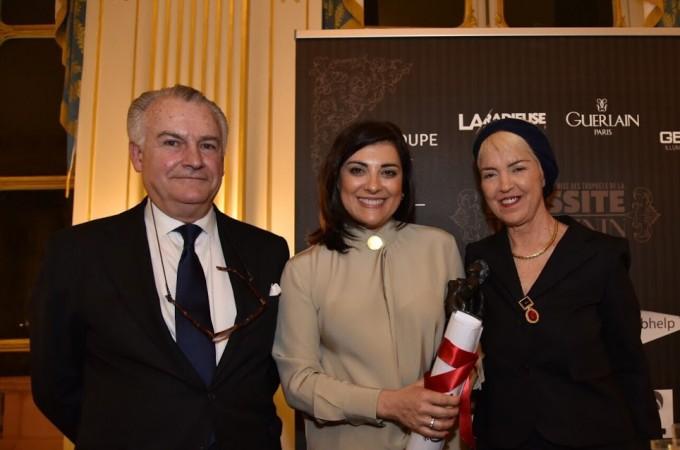 Irene Puyada, directora de Grupo Sannas, primera navarra premiada en el 'Euro France Méditerranée'