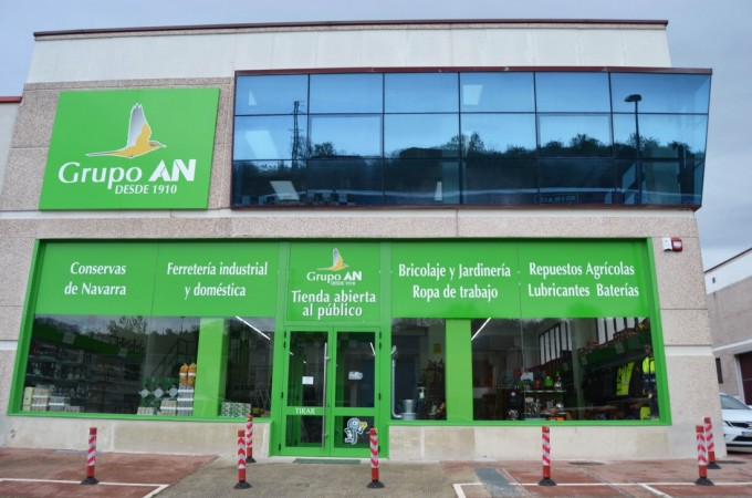 Nueva tienda de casi 1.000 metros cuadrados de Grupo AN en Estella