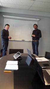 Los socios de PeerFaculty en la cooperativa de ANEL