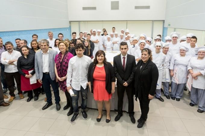 La Academia Navarra de la Gastronomía reconoce a los mejores alumnos de Hostelería de 2016