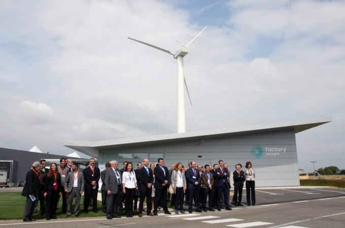 Jofemar y CENER activan en Peralta el proyecto 'LIFE Factory Microgrid'