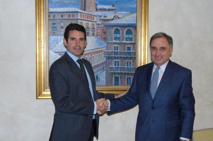 Acuerdo CEN y Elkargi, en favor de las empresas de Navarra