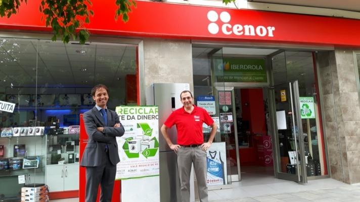 20160609 Campaña CaixaBank ANCDE reciclaje electrodomésticos