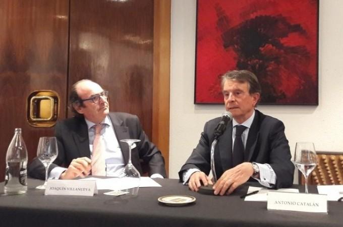 Antonio Catalán, invitado del Círculo de Navarra en Madrid