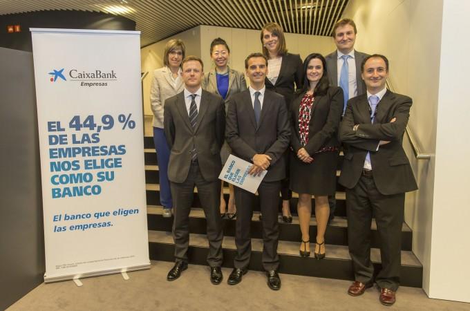 CaixaBank impulsa la internacionalización de la empresa navarra