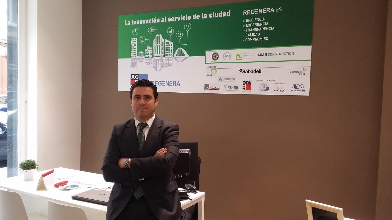 Fernando de Diego, director del área de rehabilitación de ACR Grupo
