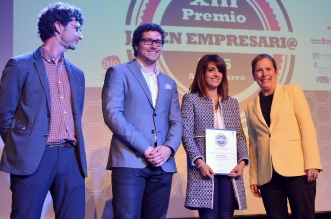 Iñigo Ayerra (IED Electronics), premio Joven Empresario 2015