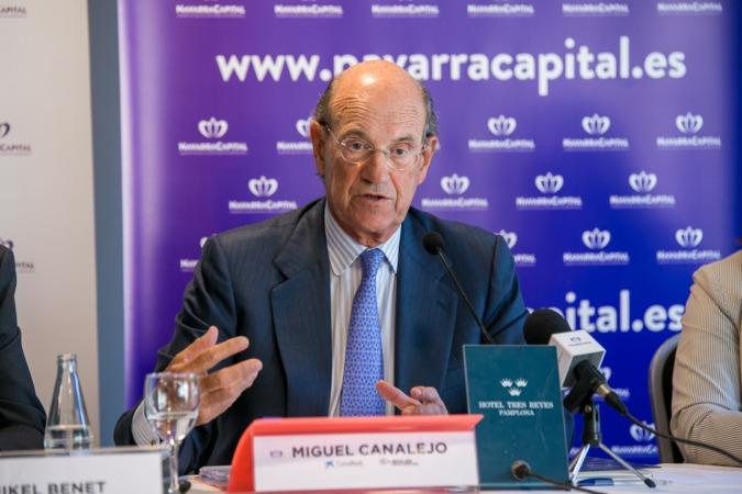 Imagen de Miguel Canalejo durante la presentación, el año pasado, del 'Barómetro de los Círculos' (archivo) Foto: Víctor Rodrígo