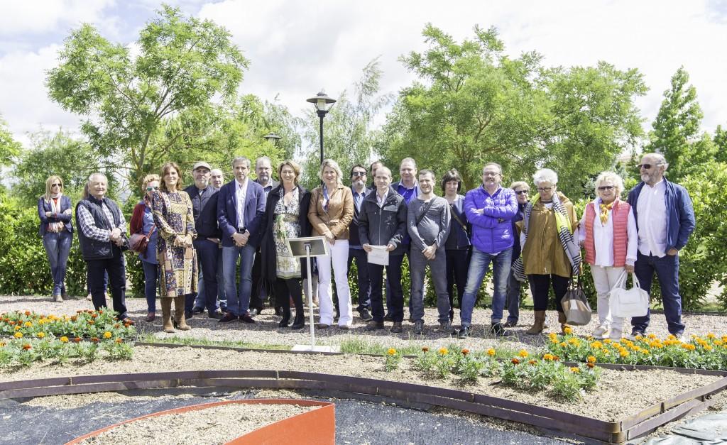 Biochef, Jardines Comestibles, Academia Navarra de la Gastronomía, Noain