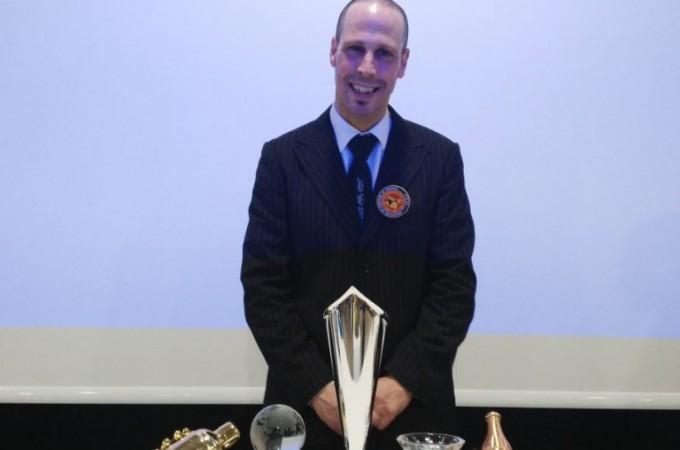 Iñigo Cochero, ganador del Concurso de Coctelería de Navarra