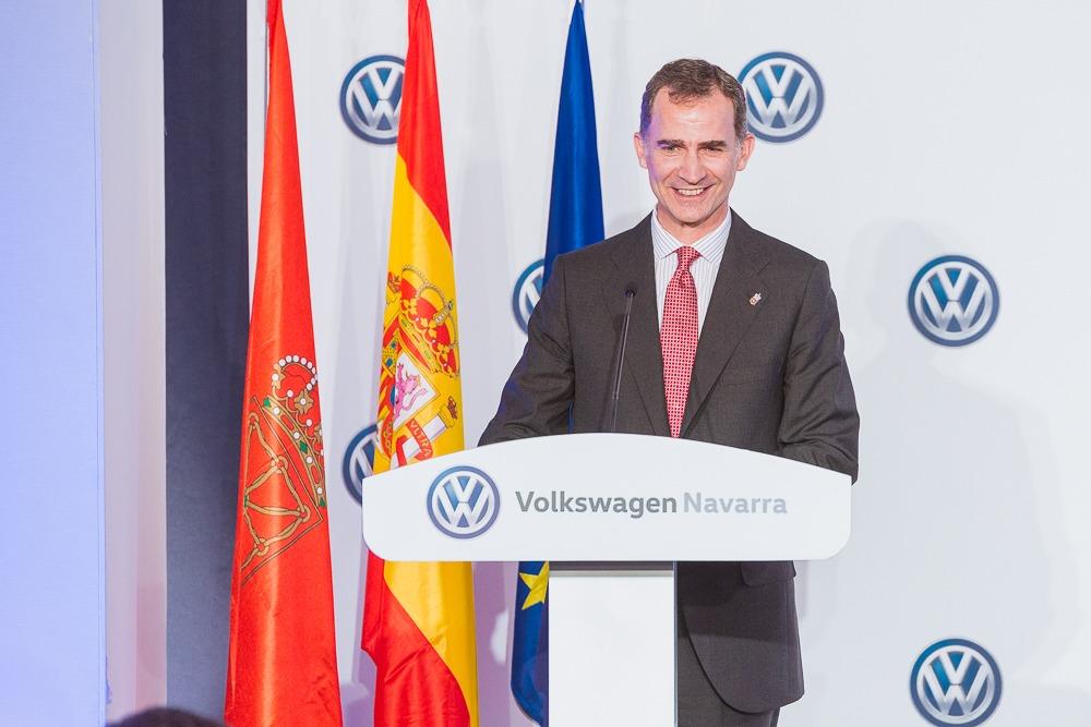 Visita real a Volkswagen Navarra en imágenes
