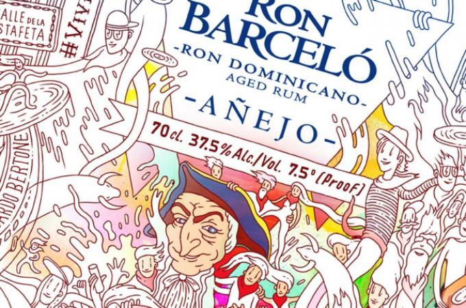 Ron Barceló lanza una edición especial dedicada a San Fermín