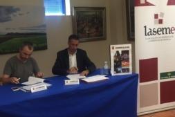 Firma acuerdo Los Arcos LASEME