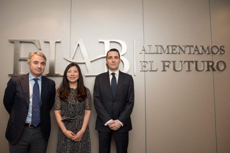 Reunión Alibaba FIAB setor agroalimentario