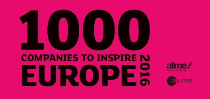 Mil empresas que inspiran Europa