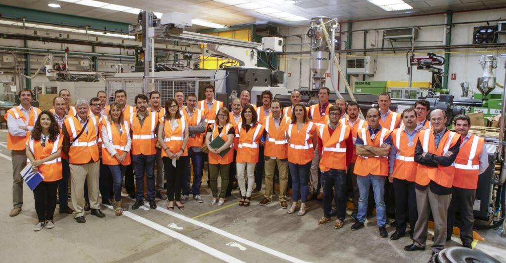 Visita Fundación Industrial de Navarra Tasubinsa