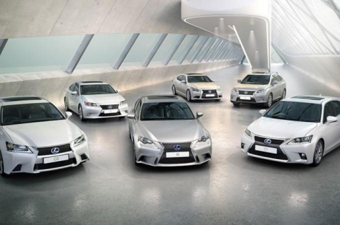 Récord de ventas de Lexus en Europa en el primer semestre de 2016
