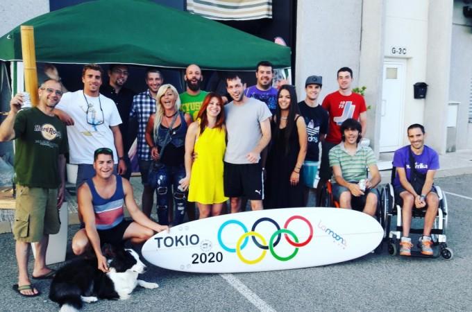 Celebración olímpica de Lamoona Surf