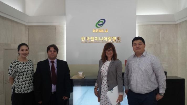 ANEC misión comercial Corea