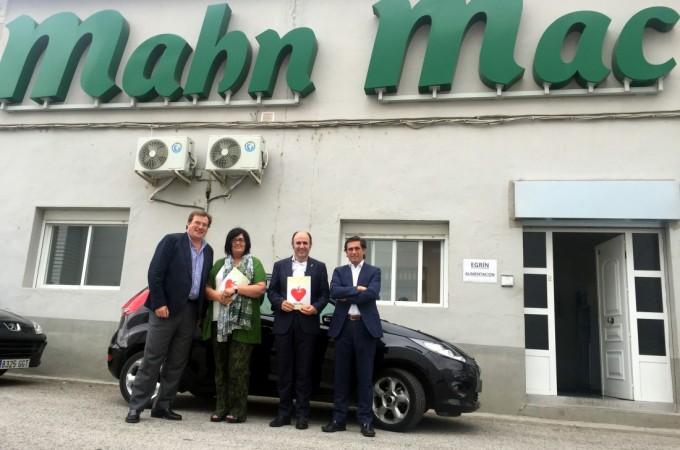 SODENA facilita a Egrin Alimentación la compra de 'Manh Mac', de Lodosa