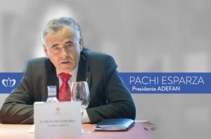 Pachi Esparza - Presidente de ADEFAN