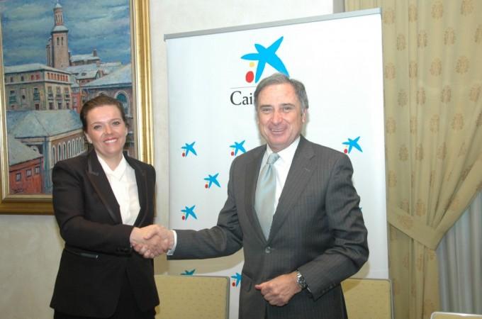 Caixabank concede 536,3 M. de € a empresas en Navarra hasta julio