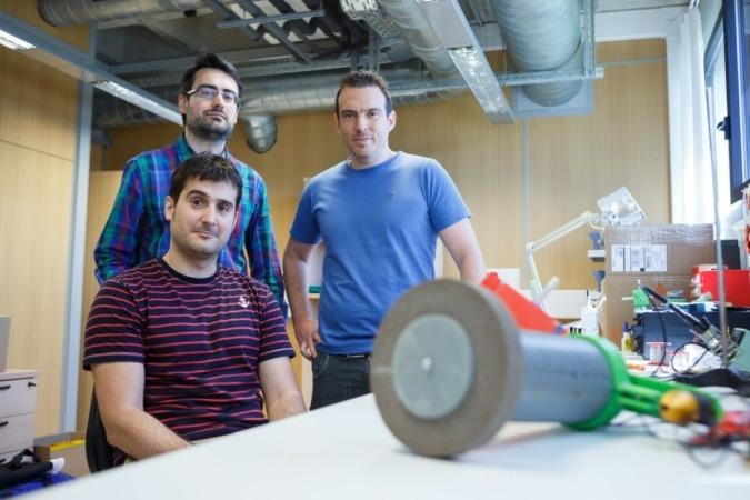 UPNA y Gettin Robotica robot inteligente uso industrial