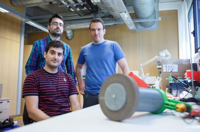 La UPNA y GettinG Robotika innovan un robot inteligente para uso industrial