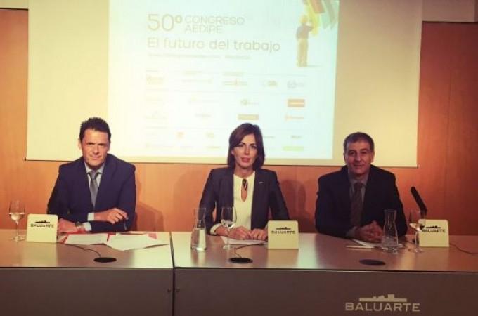 """AEDIPE cita en Pamplona a 40 expertos para debatir """"el futuro del trabajo"""""""