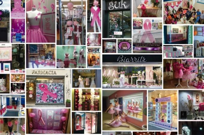 Navarra rosa por el cáncer de mama