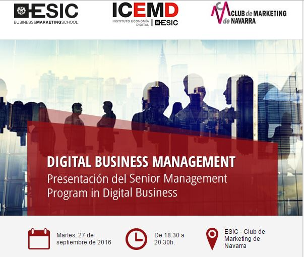 Senior Management Program in Digital Business