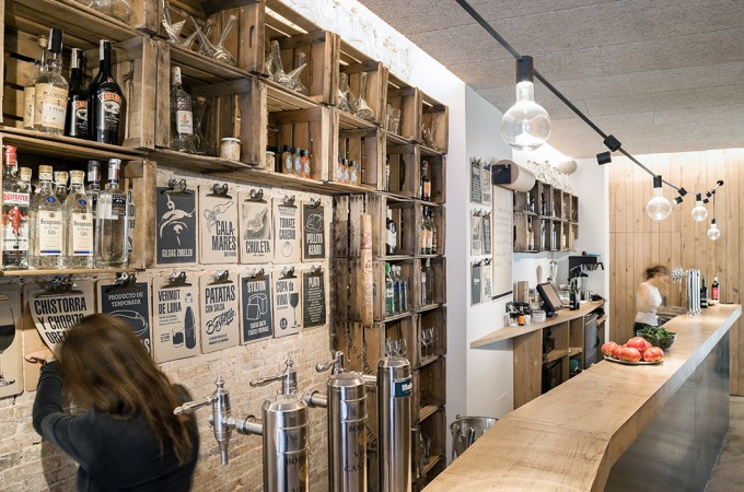 """El Bar Picnic, de Pamplona, finalista al """"Mejor Bar Europeo de diseño"""""""