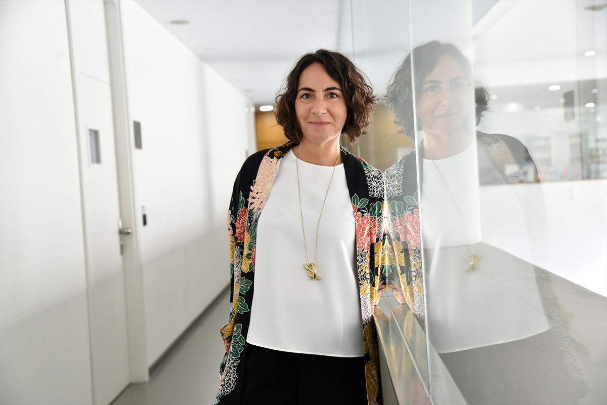 Amparo Bértolo, líder del movimiento #GivingTuesday en Navarra.