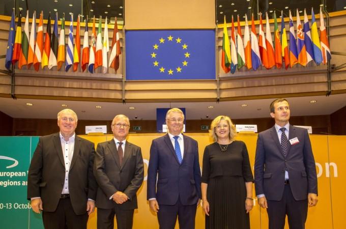 """""""Cada euro invertido en Fondos de Cohesión, genera 2,7 de riqueza en Europa"""""""