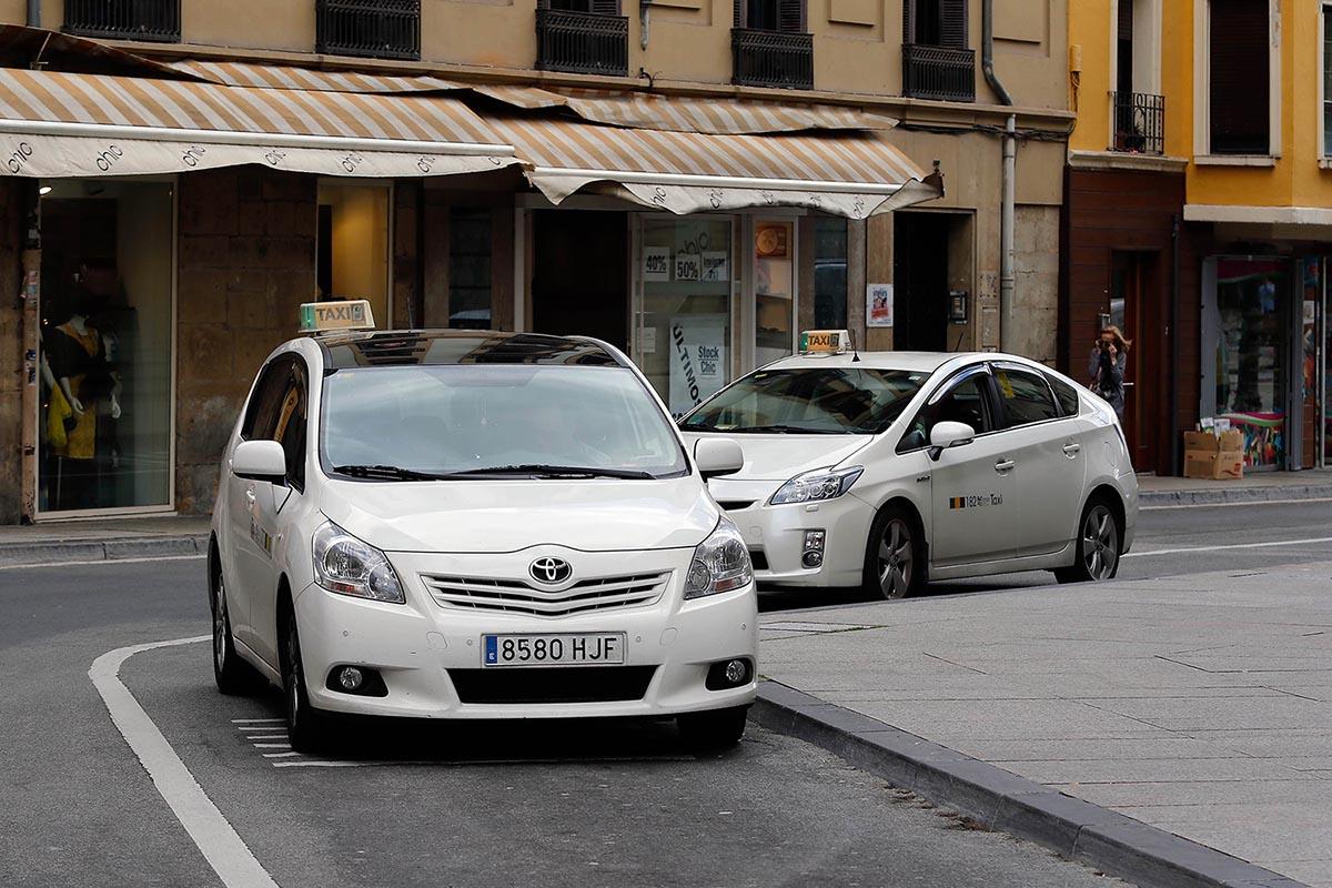 Parada de taxis.