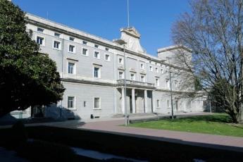 Edificio Central de la Universidad de Navarra