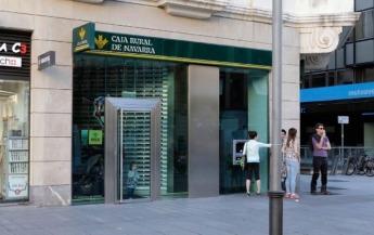 Sucursal de Caja Rural de Navarra en Pamplona