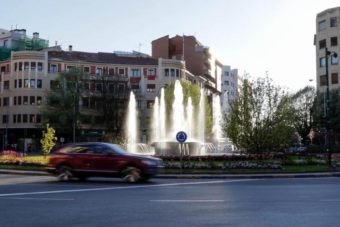 Plaza Príncipe de Viana de Pamplona