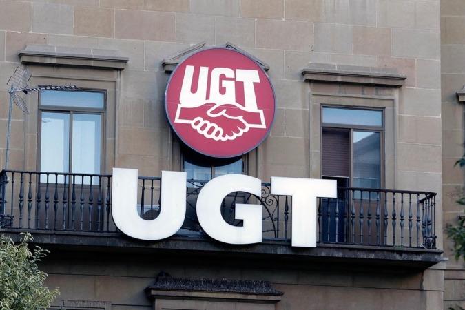 Sede de UGT en Pamplona
